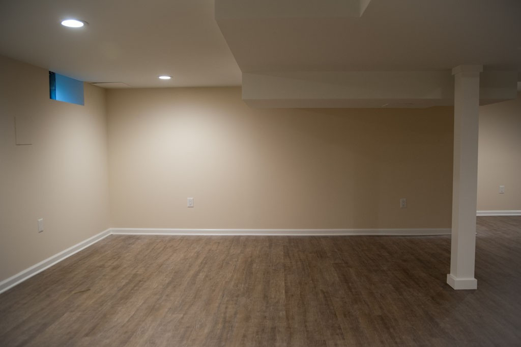 Best ideas about Simple Basement Ideas . Save or Pin Simple Basement Remodel in Plainsboro NJ Now.