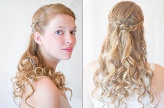 Simple Bridesmaid Hairstyles  Bridesmaids Hairstyles for short & medium & long hair