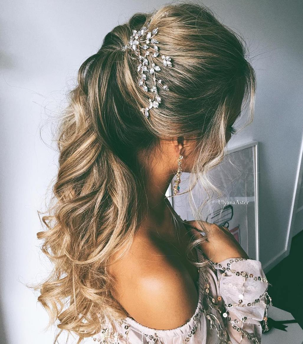 Simple Bridesmaid Hairstyles  Wedding hairstyle for Long hair How to make it