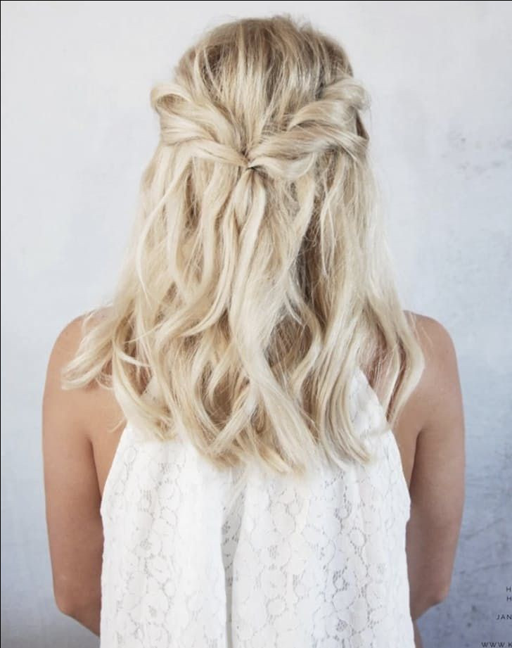 Simple Bridesmaid Hairstyles  wedding hairstyles for teenage girls