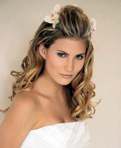 Simple Bridesmaid Hairstyles  Easy wedding hairstyles long hair