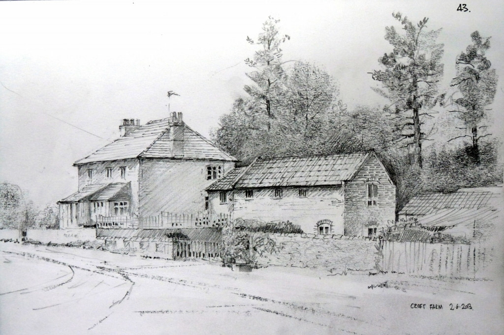 Best ideas about Simple Landscape Drawing . Save or Pin Simple Pencil Sketches Landscapes Drawing Pencil Now.