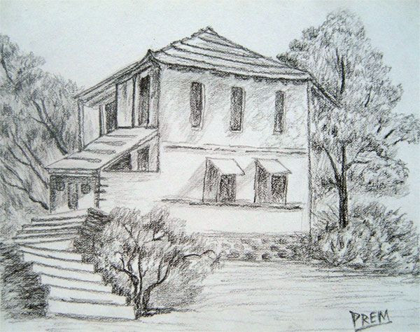 Best ideas about Simple Landscape Drawing . Save or Pin Gallery Easy Landscape Sketches Drawings Art Gallery Now.