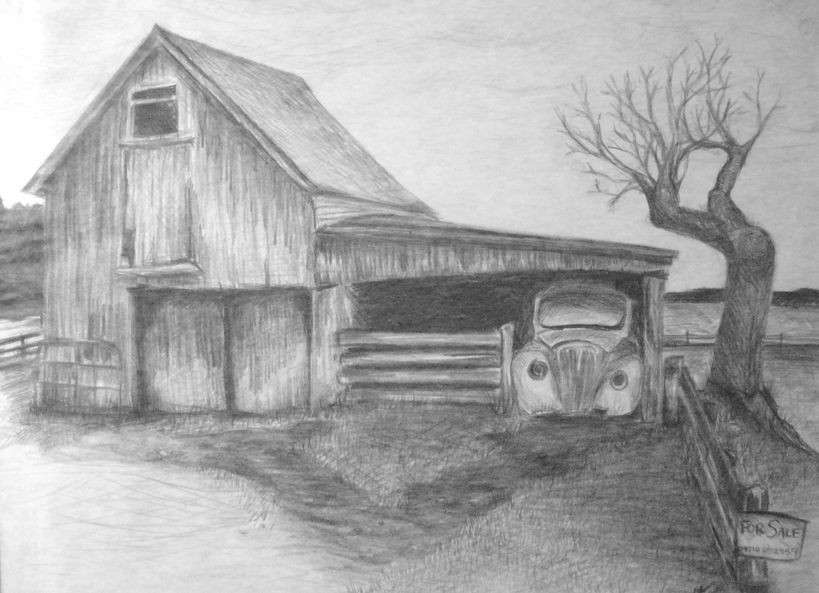 Best ideas about Simple Landscape Drawing . Save or Pin s Landscape Sketches For Beginners Drawings Art Now.