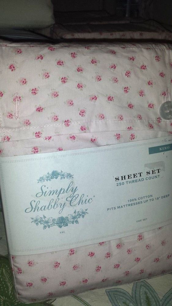 Best ideas about Simply Shabby Chic Sheet . Save or Pin Simply Shabby Chic Rose bud vintage crisp percale Now.