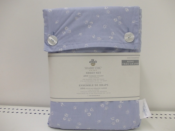 Best ideas about Simply Shabby Chic Sheet . Save or Pin Simply Shabby Chic Sheet Set Indigo Floral King Now.