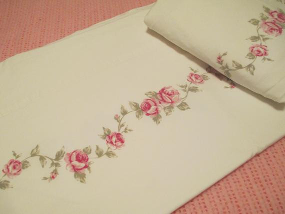 Best ideas about Simply Shabby Chic Sheet . Save or Pin Twin Sheet Set Simply Shabby Chic Fabric Now.
