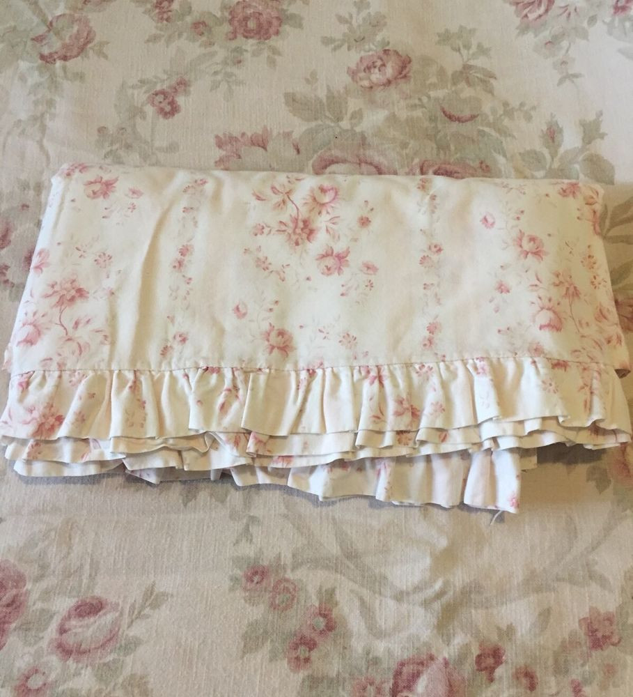 Best ideas about Simply Shabby Chic Sheet . Save or Pin Rare Ralph Lauren Heartland Flat Ruffled King Sheet Now.