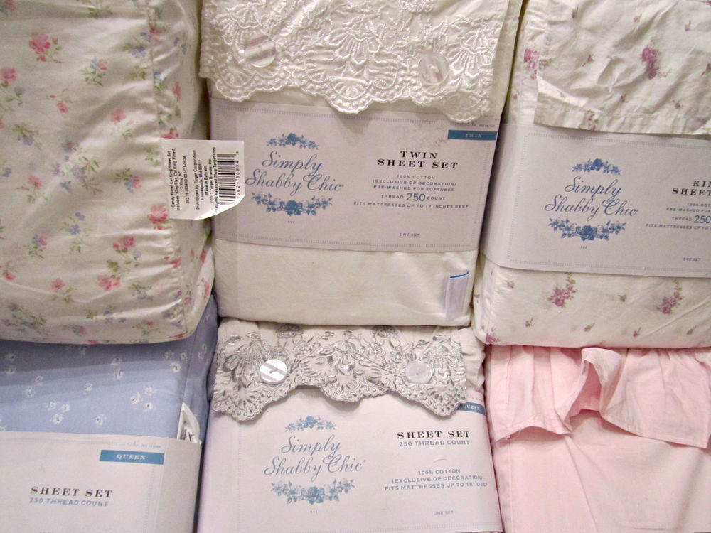 Best ideas about Simply Shabby Chic Sheet . Save or Pin Simply Shabby Chic Sheet Set Woodrose Embroidered Indigo Now.