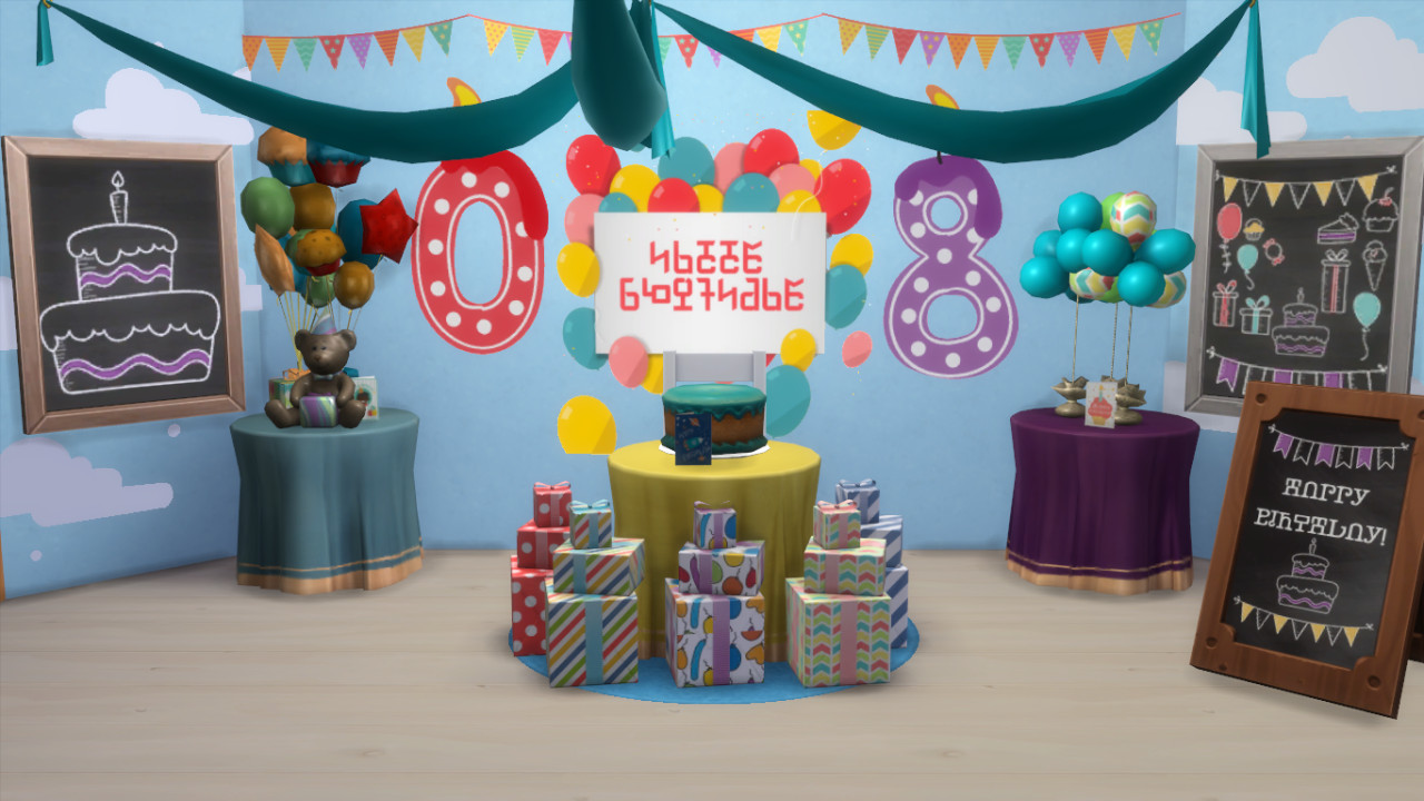 Best ideas about Sims 4 Birthday Party . Save or Pin My Sims 4 Blog Birthday Party Set by BrittPinkieSims Now.