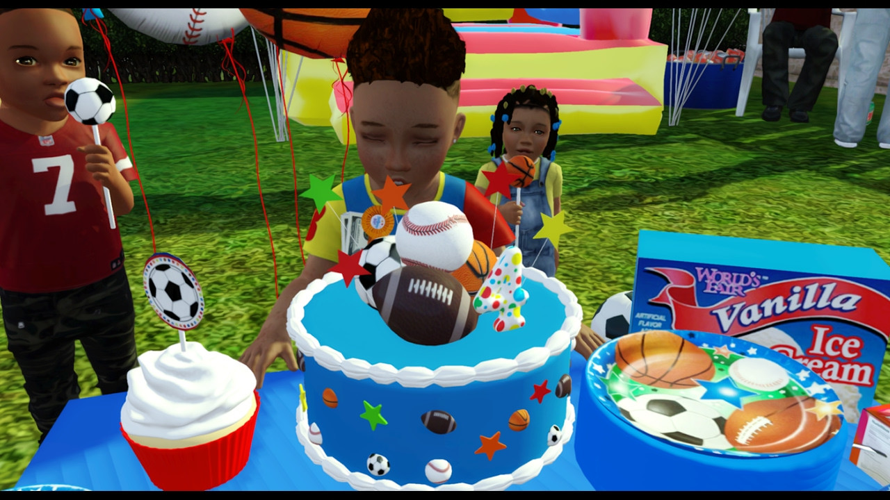Best ideas about Sims 4 Birthday Party . Save or Pin Sims 3 Speed decorating Toddler birthday party Now.