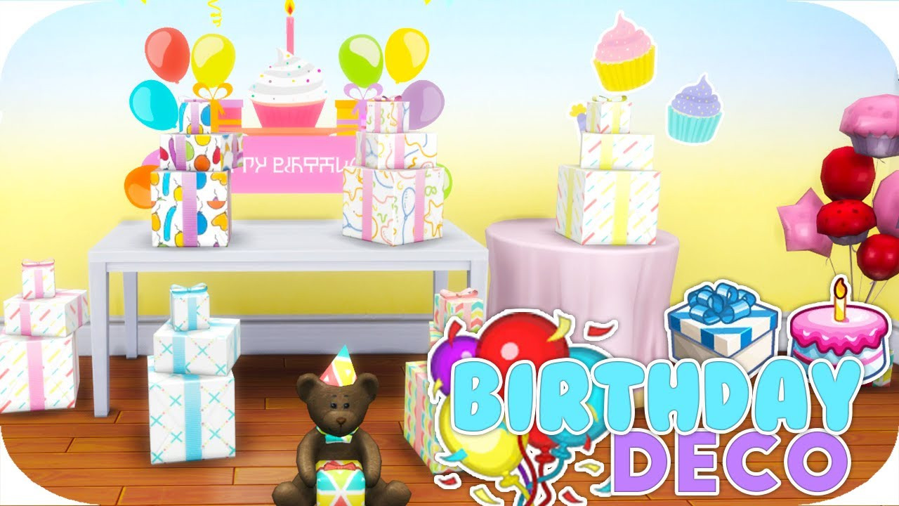 Best ideas about Sims 4 Birthday Party . Save or Pin THE SIMS 4 Now.