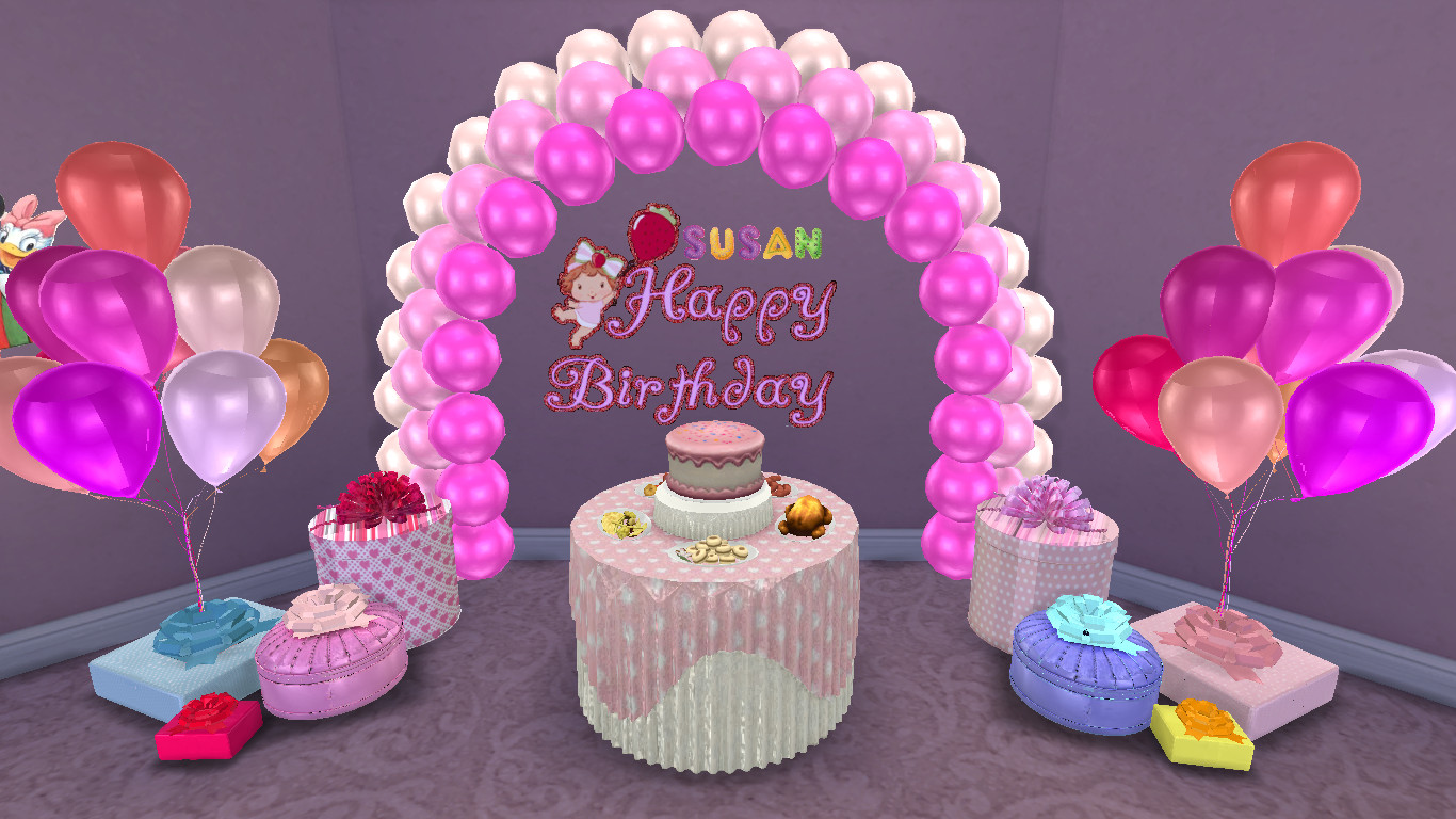 Best ideas about Sims 4 Birthday Party . Save or Pin Sims 4 CC Download Birthday Decals Set Now.