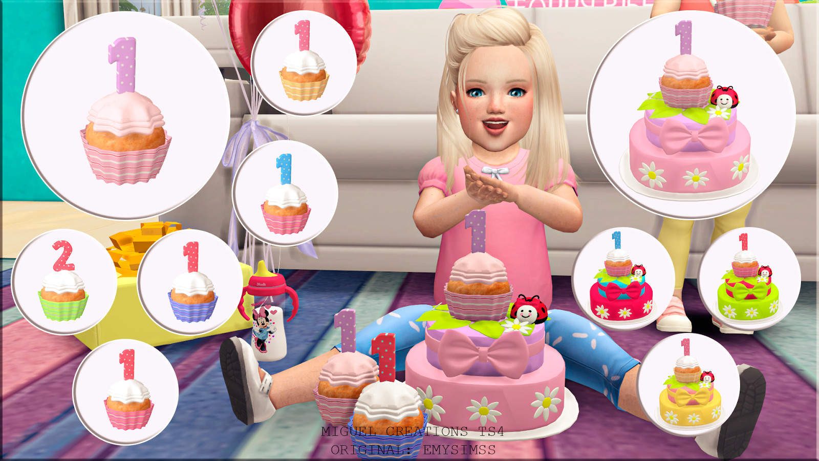 Best ideas about Sims 4 Birthday Party . Save or Pin Miguel Creations TS4 Girl´s Birthday Now.