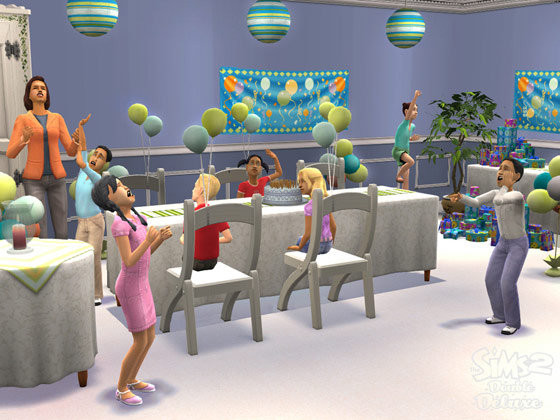 Best ideas about Sims 4 Birthday Party . Save or Pin Image Sim birthday party The Sims Wiki Now.