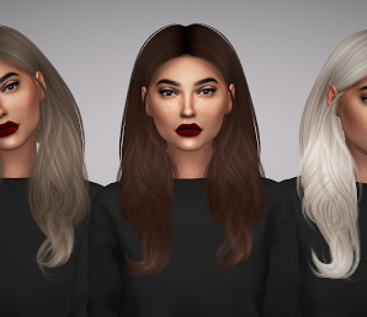 Sims 4 Hairstyles Female  The Sims 4 Female Hair Custom Content Downloads