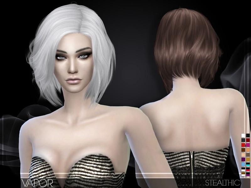 Sims 4 Hairstyles Female  Stealthic Vapor Female Hair