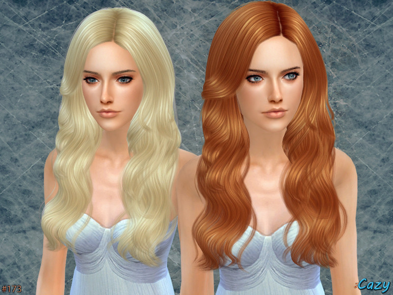 Sims 4 Hairstyles Female  Cazy s Raindrops Female Hairstyle