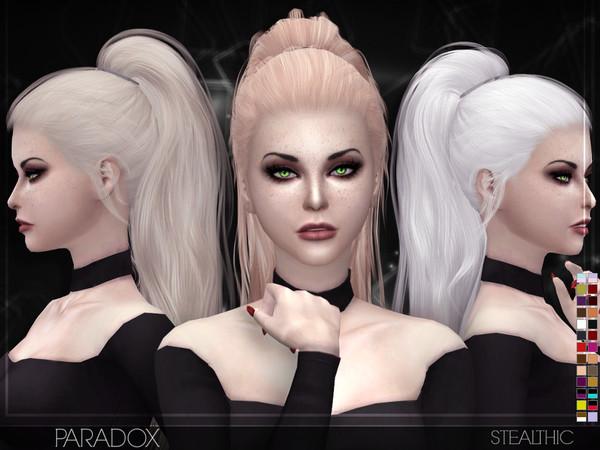 Sims 4 Hairstyles Female  Stealthic – Paradox Female Hair
