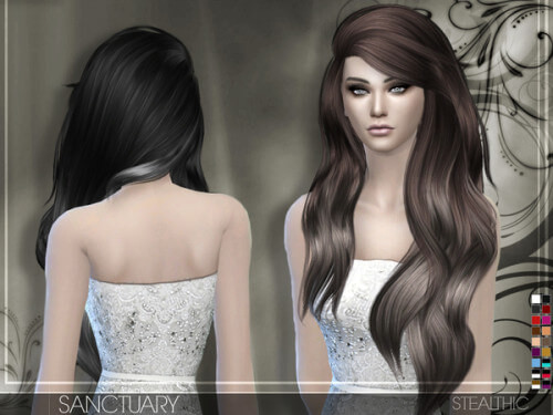 Sims 4 Hairstyles Female  Spring4Sims Hair for Females