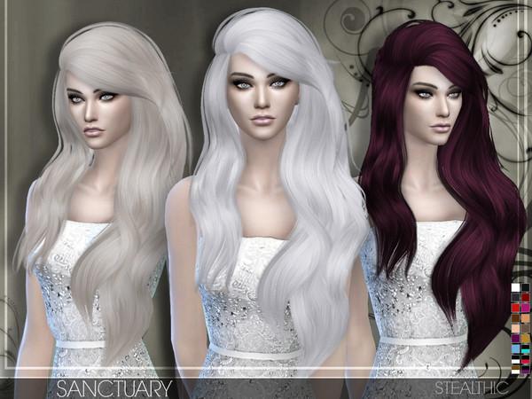 Sims 4 Hairstyles Female  Stealthic Sanctuary Female Hair