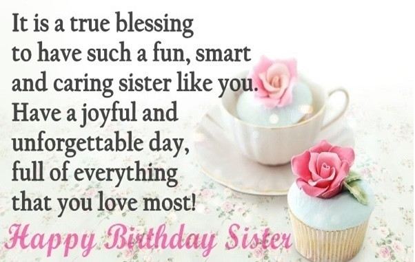20 Best Sisters Happy Birthday Quotes - Best Collections ...