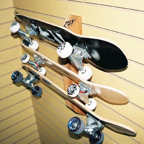 Skateboard Rack DIY  39 best Skateboarding & Skate Racks images on Pinterest