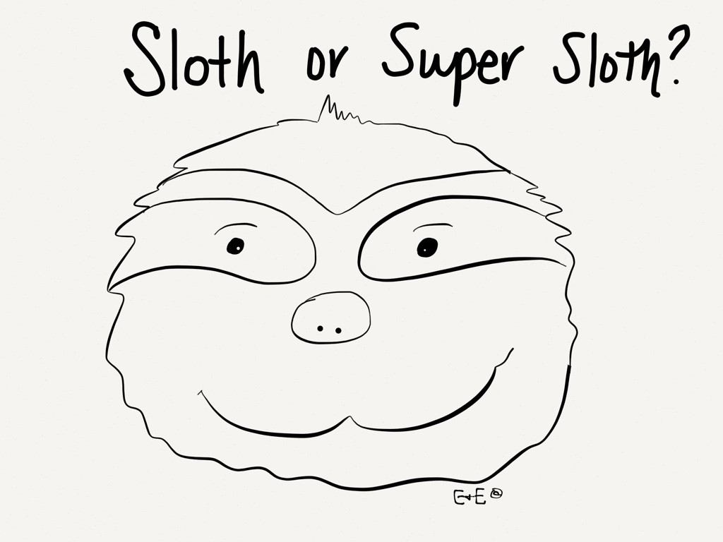 Sloth Coloring Sheets For Boys  Sloth Goonies Free Colouring Pages