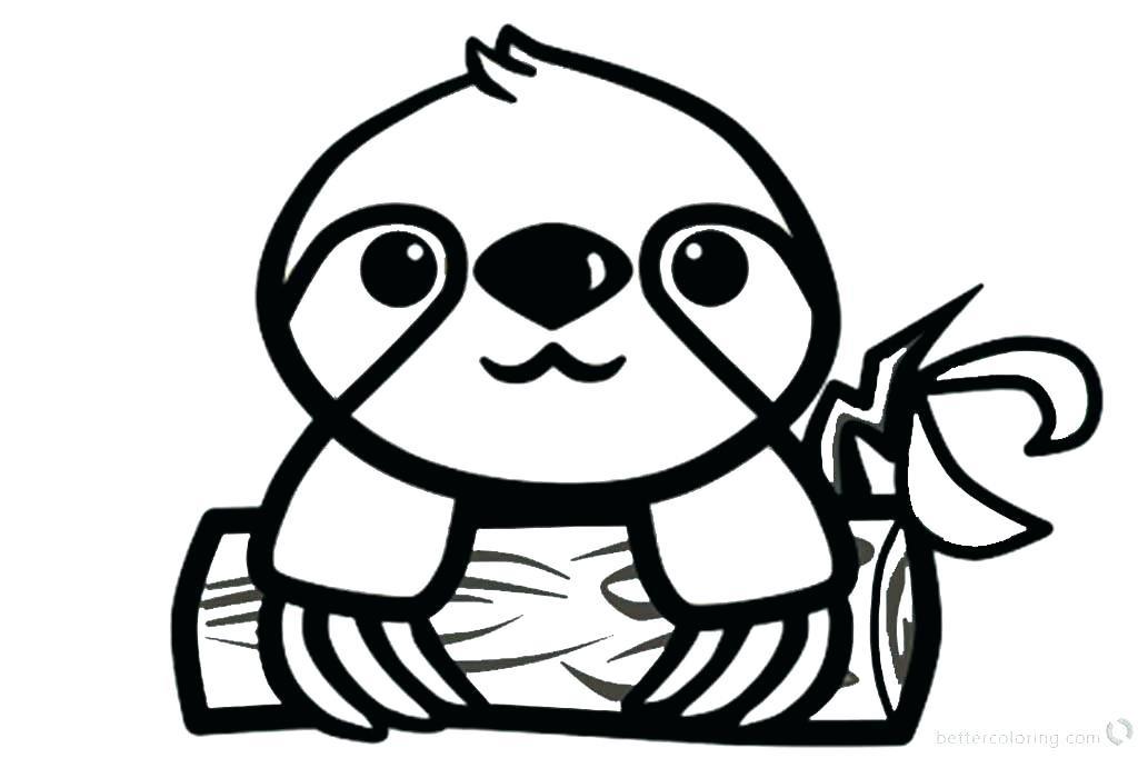 Sloth Coloring Sheets For Boys  Cute sloth coloring pages coloring sloth coloring pages