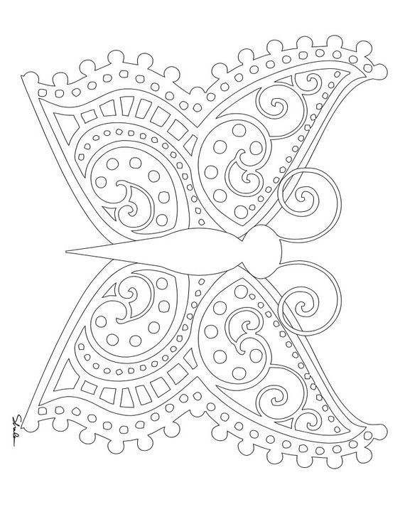 Best ideas about Small Adult Coloring Books . Save or Pin Cool easter images for small printed shirt or scarf adult Now.