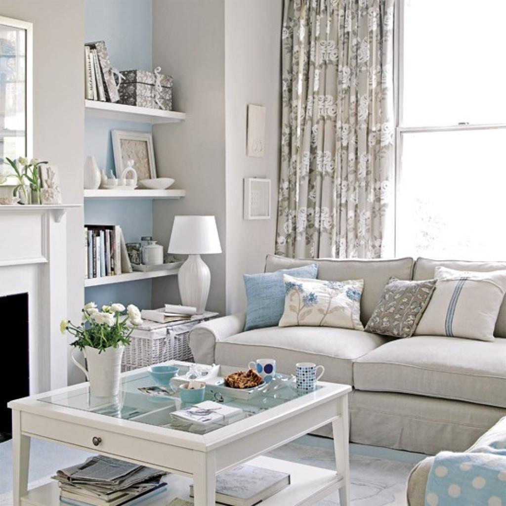 Best ideas about Small Apartment Living Room . Save or Pin Interesting useful ideas for how can you make a small Now.