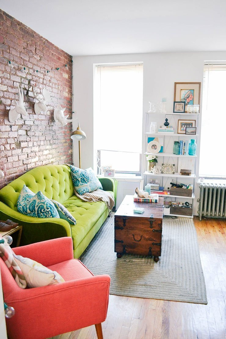 Best ideas about Small Apartment Living Room . Save or Pin 50 Best Small Living Room Design Ideas for 2019 Now.