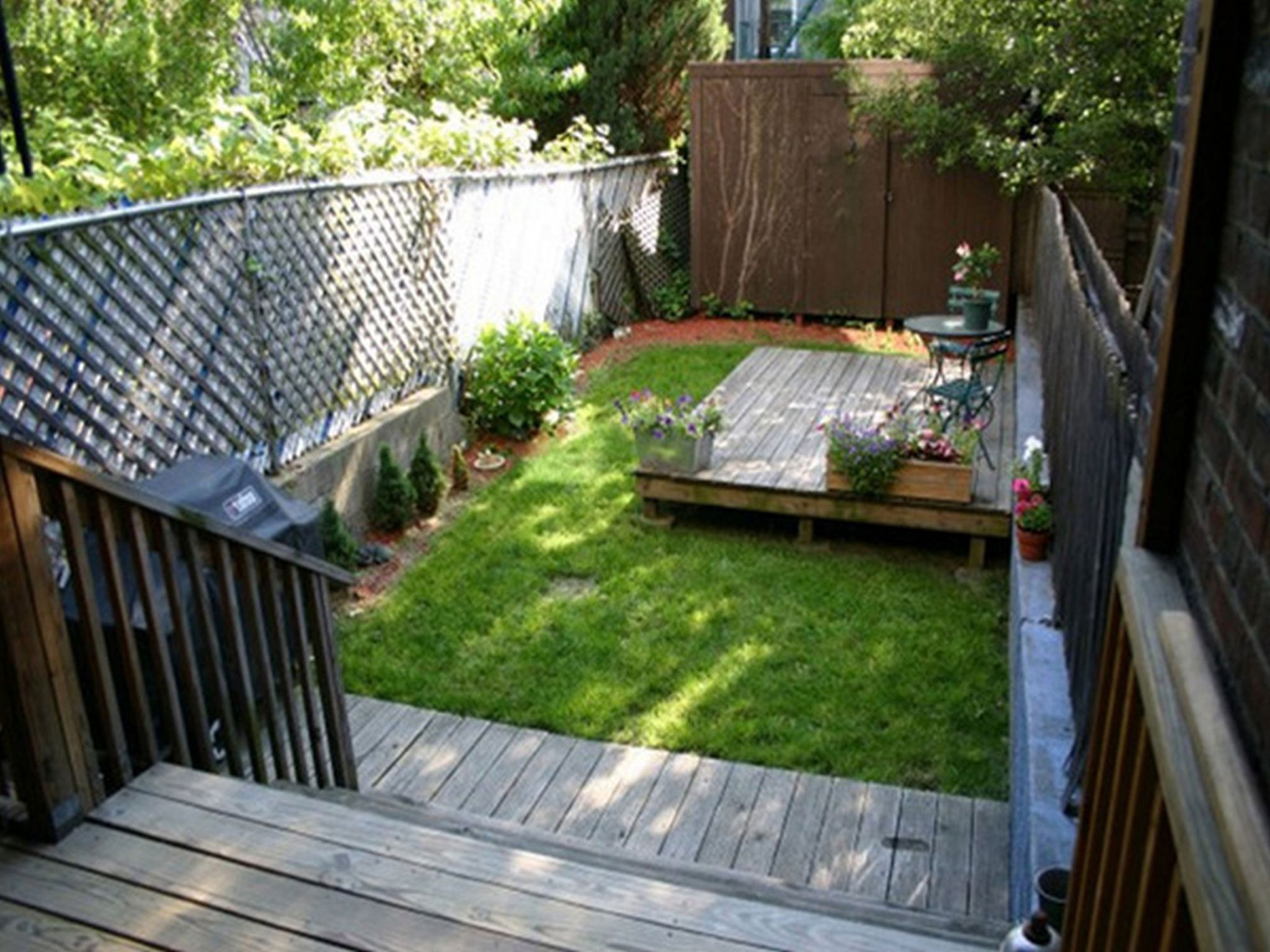 Best ideas about Small Backyard Design . Save or Pin Create Your Beautiful Gardens with Small Backyard Now.