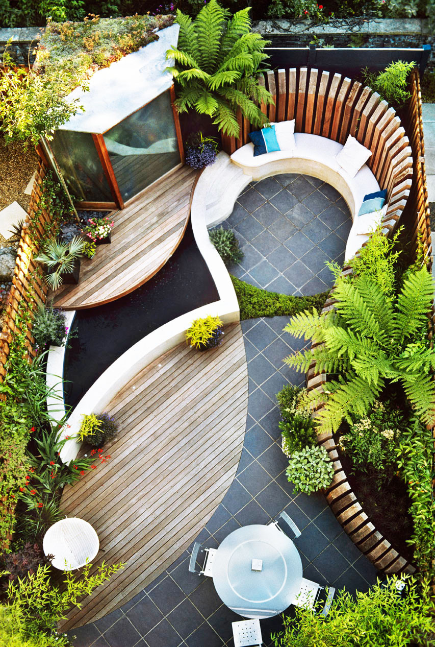 Best ideas about Small Backyard Design . Save or Pin small yard landscaping ideas and layout Now.