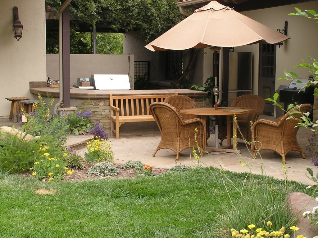 Best ideas about Small Backyard Design . Save or Pin 15 Fabulous Small Patio Ideas To Make Most Small Space Now.