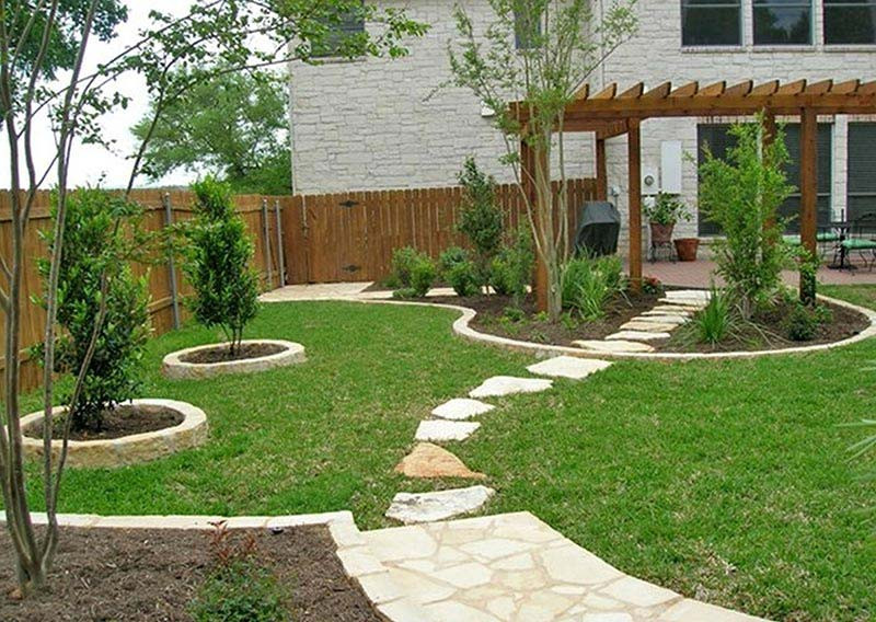 Best ideas about Small Backyard Design . Save or Pin Small Yard Landscaping Design Quiet Corner Now.