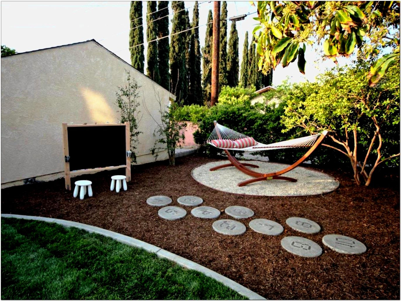 Best ideas about Small Backyard Ideas On A Budget . Save or Pin Small Backyard Landscaping Ideas A Bud – Newest Home Now.