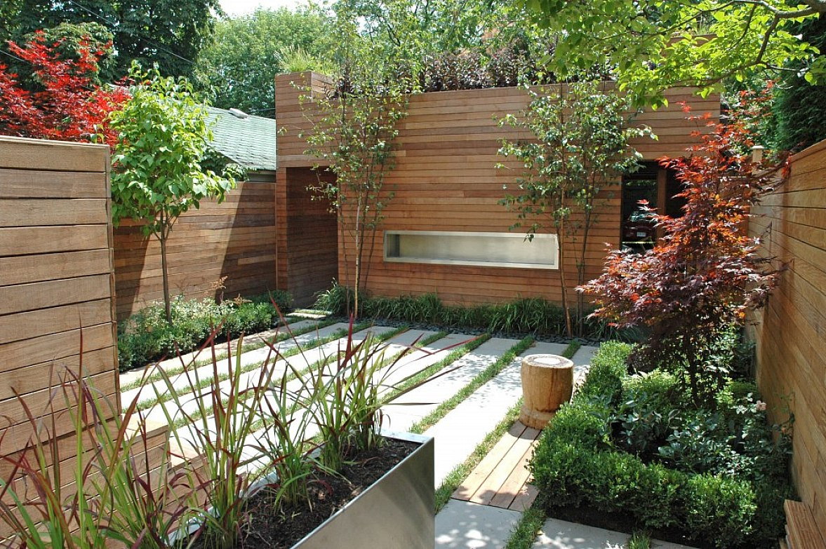 Best ideas about Small Backyard Ideas On A Budget . Save or Pin Cheap Backyard Landscaping Ideas No Grass A Bud Now.