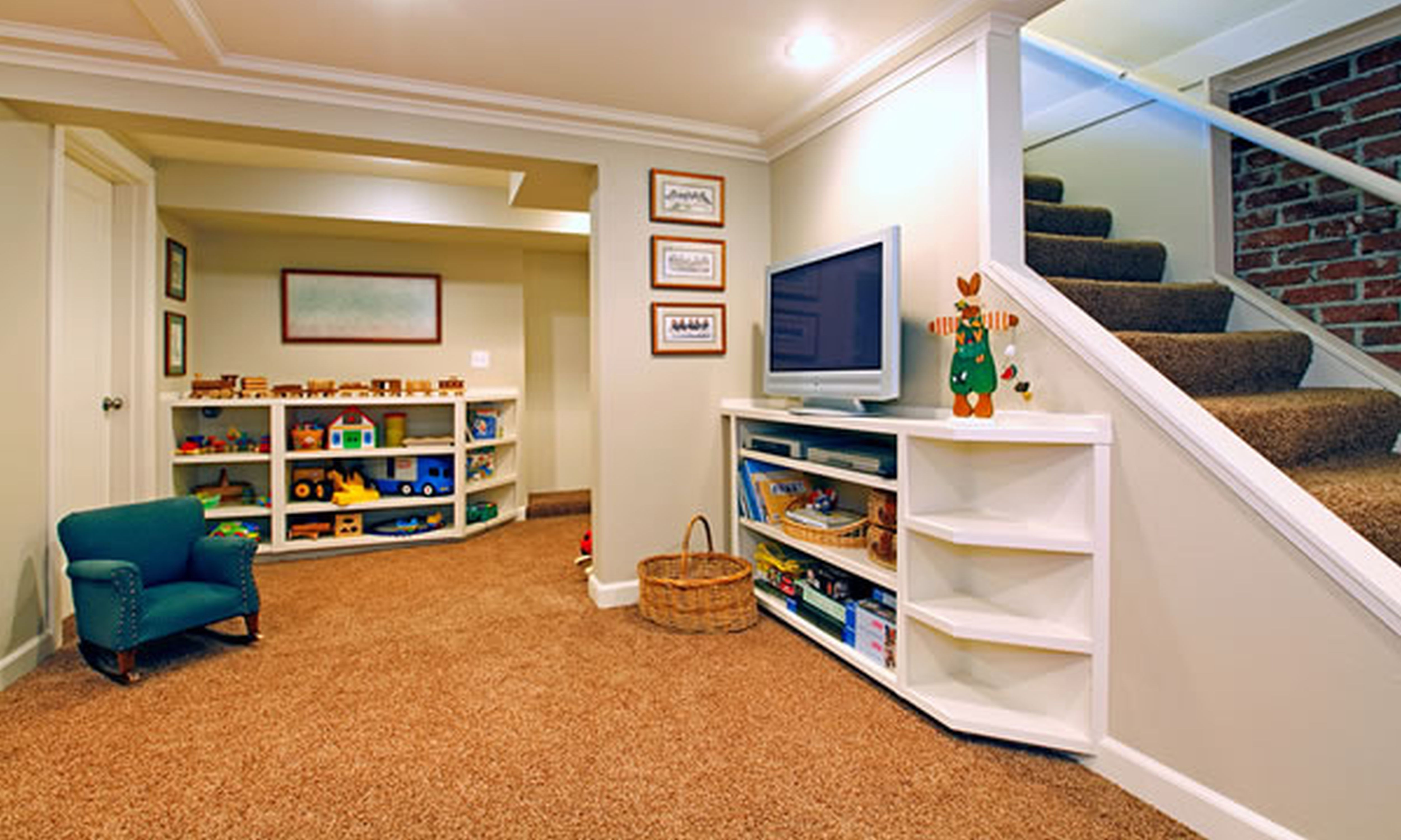 Best ideas about Small Basement Ideas On A Budget . Save or Pin Basement Finishing Projects High Tech Renovation Now.