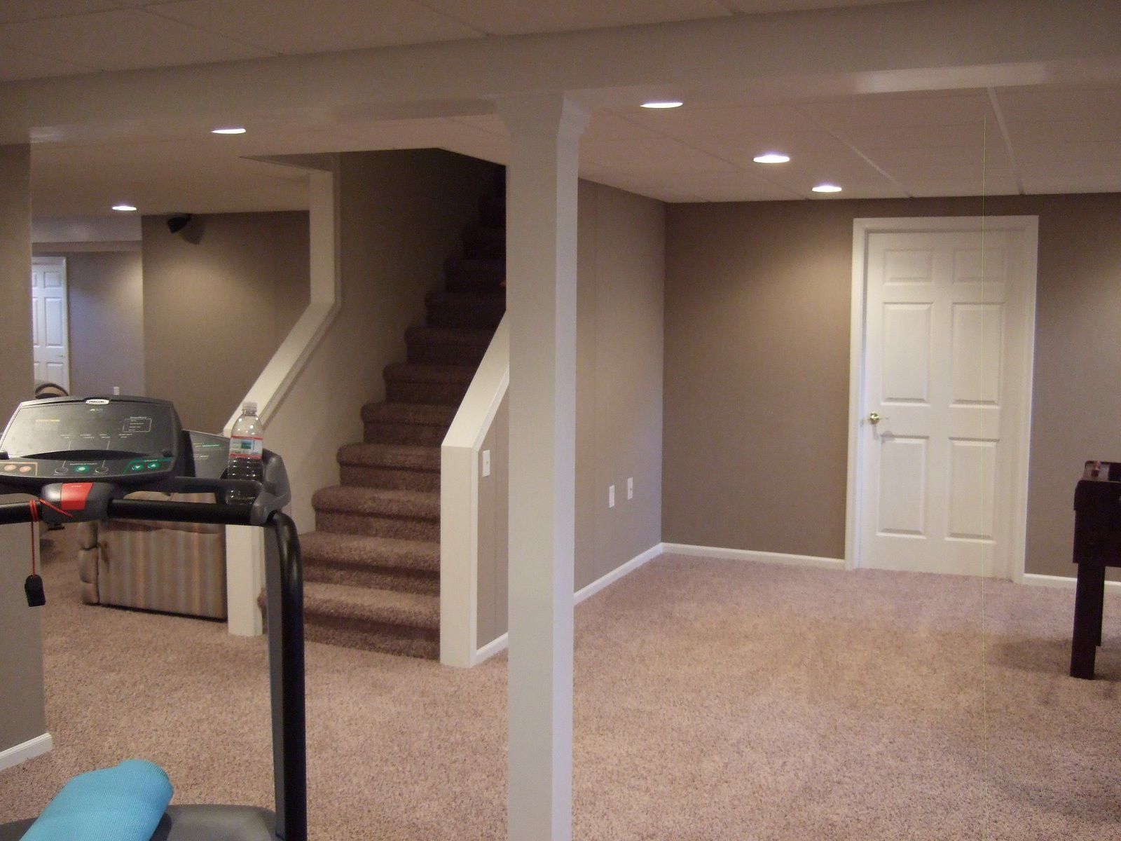 Best ideas about Small Basement Ideas On A Budget . Save or Pin House Plan Stunning Design Unfinished Basement Ideas Now.