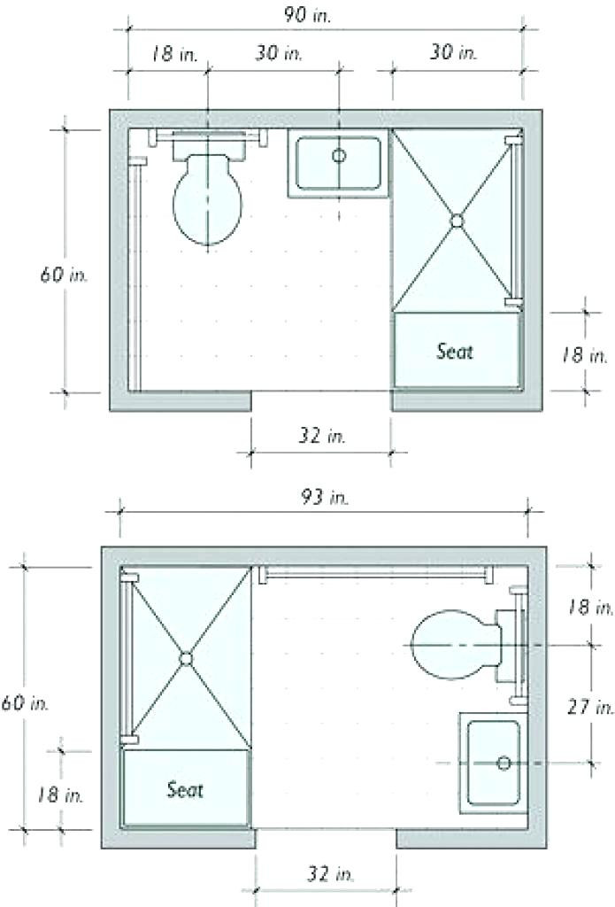 Best ideas about Small Bathroom Dimensions . Save or Pin Small Bathroom Layout Small Bathroom Layout Plan Bathroom Now.