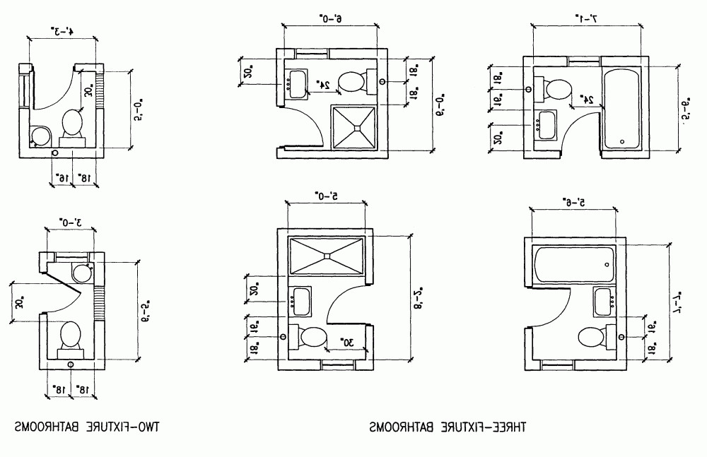 Best ideas about Small Bathroom Dimensions . Save or Pin Fresh Decoration Small Bathroom Size Home Design Intended Now.