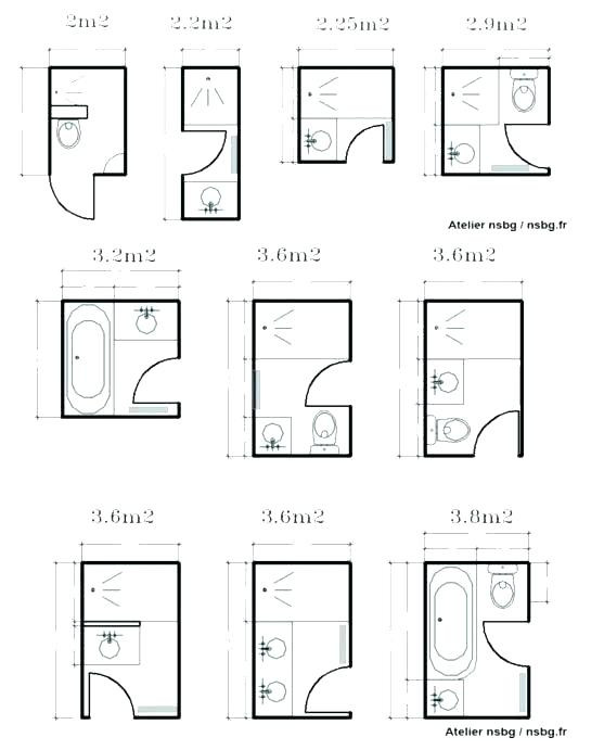 Best ideas about Small Bathroom Dimensions . Save or Pin Small Bathroom Layouts Eye Catching Small Bathroom Layout Now.