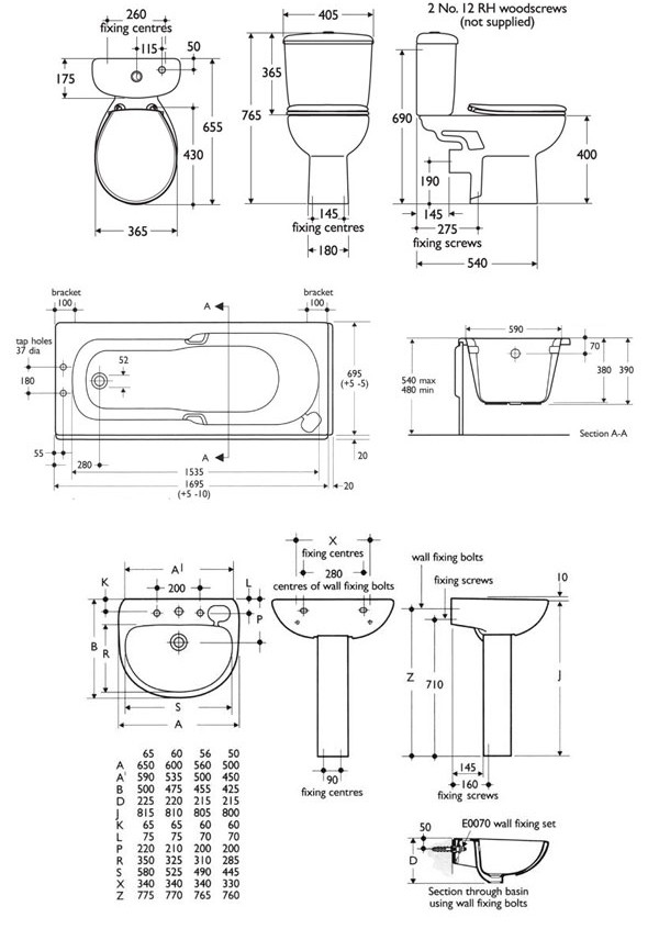 Best ideas about Small Bathroom Dimensions . Save or Pin 40 Small Bathroom Sink Dimensions Pedestal Sink For Small Now.