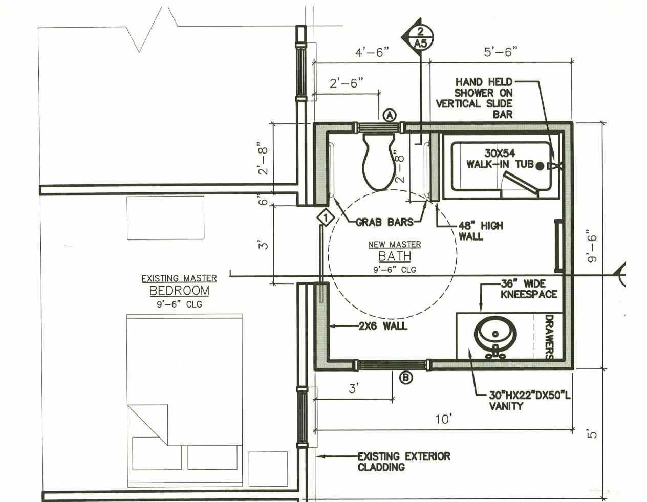 Best ideas about Small Bathroom Dimensions . Save or Pin small half bathroom dimensions Now.