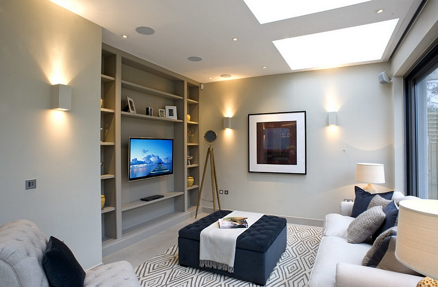 Best ideas about Small Family Room Ideas . Save or Pin Small family room decorating ideas Decoist Now.
