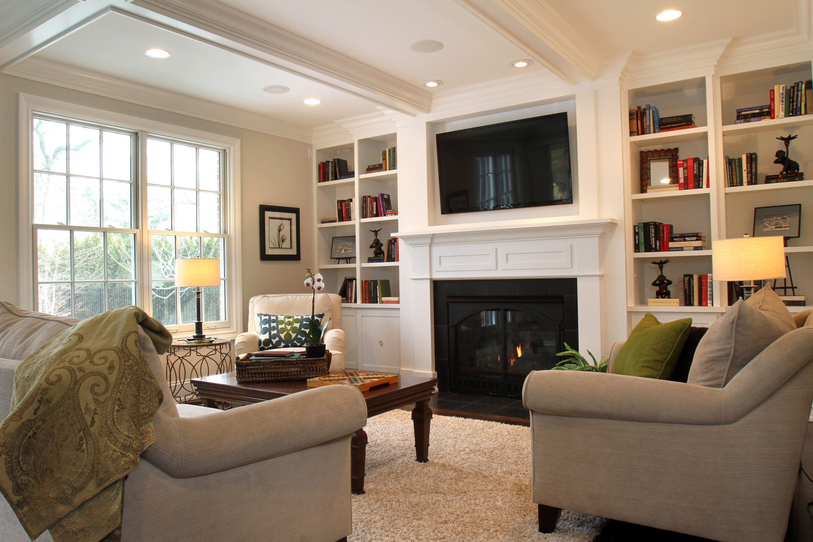 Best ideas about Small Family Room Ideas . Save or Pin Tv Room Decorating Ideas Home Design Now.