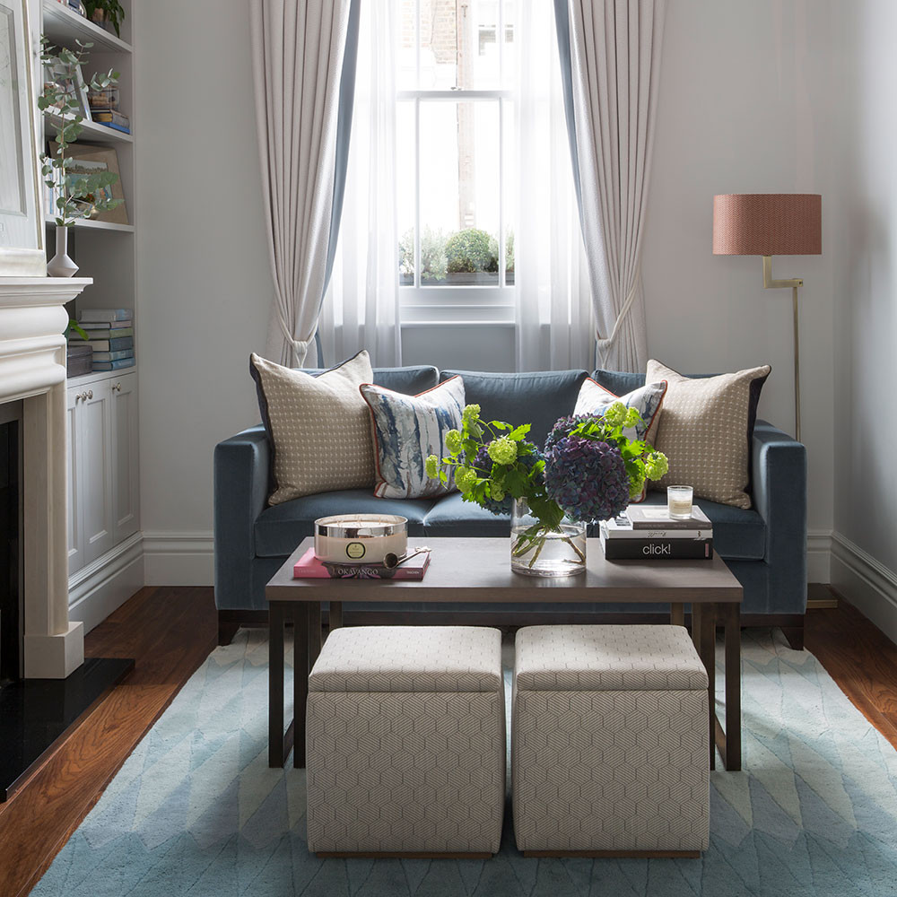 Best ideas about Small Family Room Ideas . Save or Pin Small living room ideas – Small living room design – small Now.
