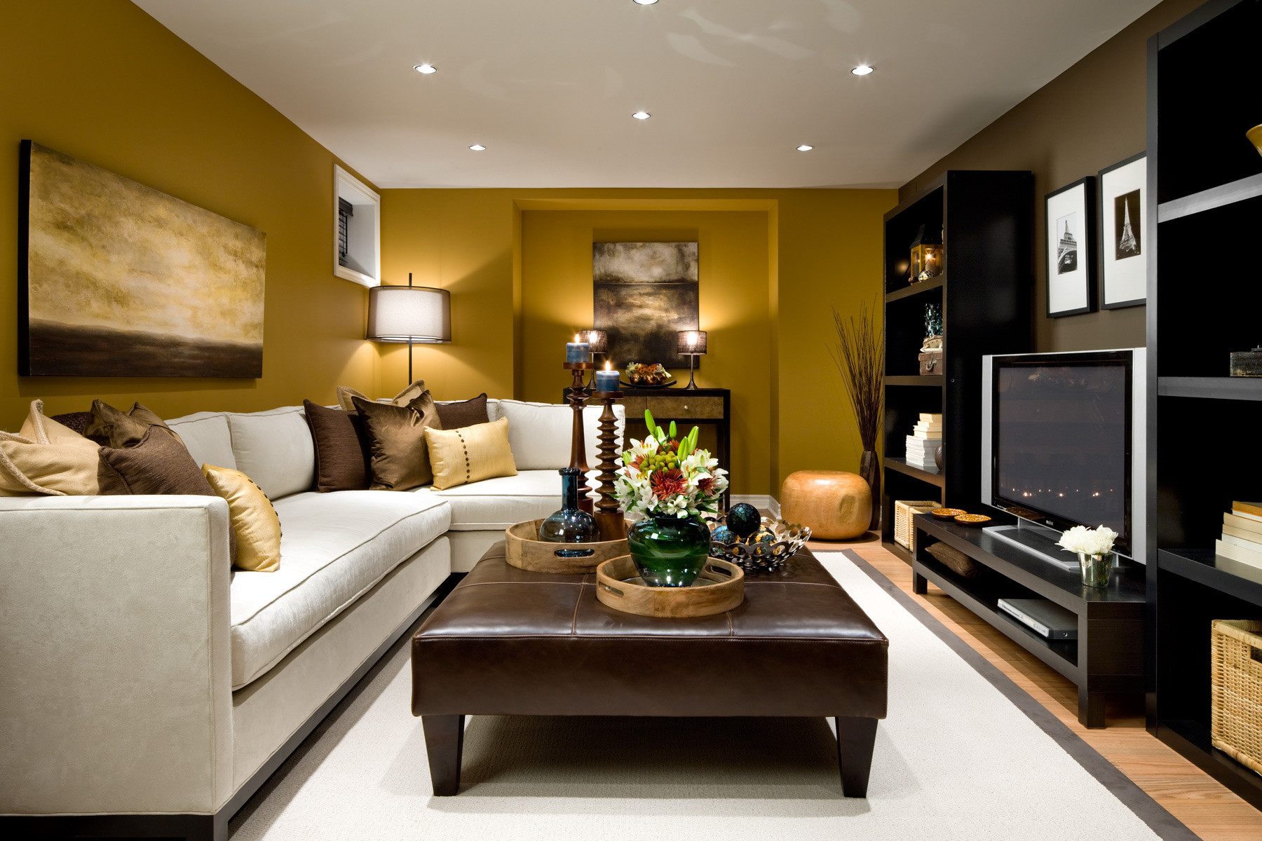 Best ideas about Small Family Room Ideas . Save or Pin 50 Best Small Living Room Design Ideas for 2019 Now.