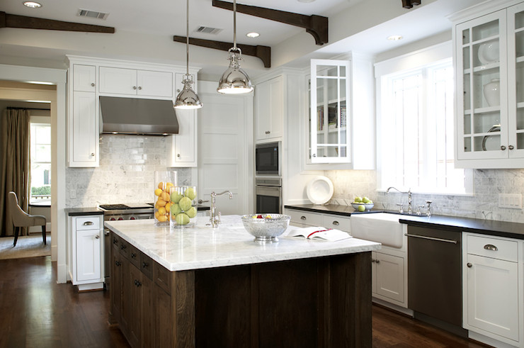Best ideas about Small Farmhouse Kitchen Ideas . Save or Pin Yoke Pendants with Small Shade Transitional kitchen Now.